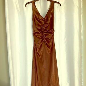 Gorgeous satin formal dress from Boston's Filene's